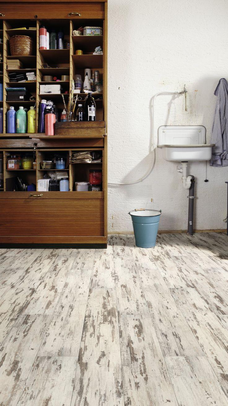 2 oldalon fózolt rusztikus laminált padló