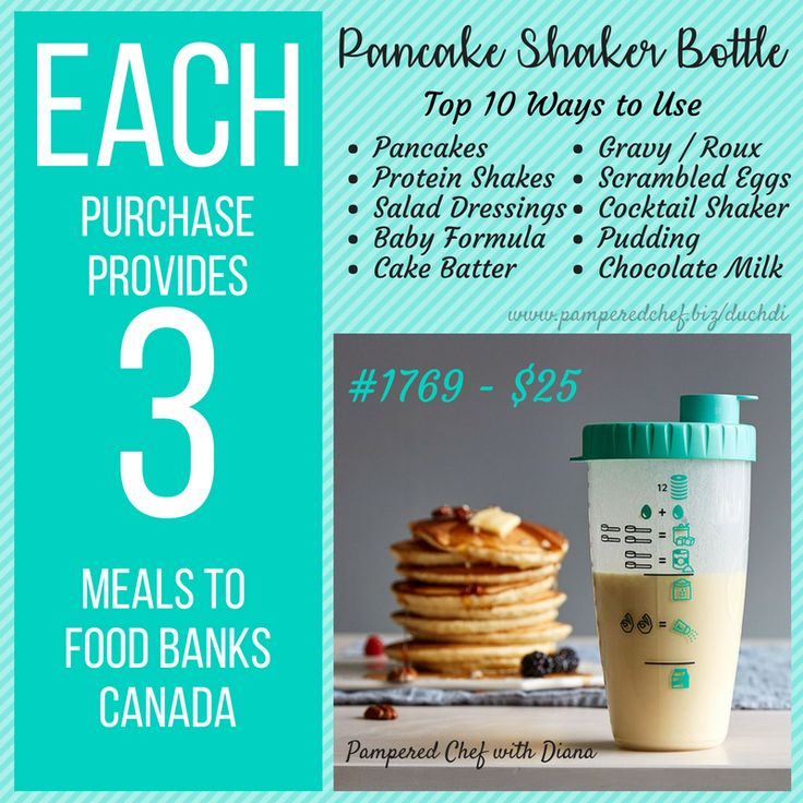 10 Ways to Use the Pancake Shaker Bottle from Pampered Chef! #duchdipc #aspoonfulofzest #pamperedchef #pancakes #shaker #easybreakfast