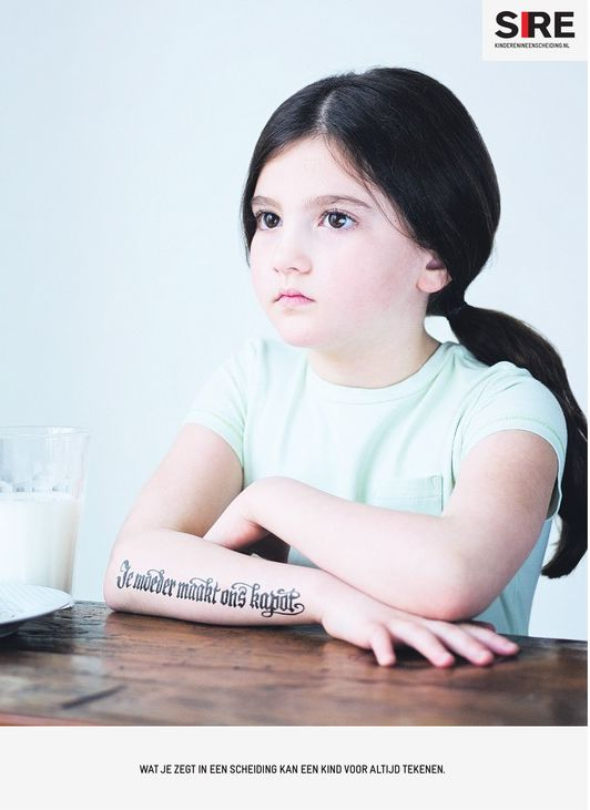 SIRE: Kinderen scheiden niet