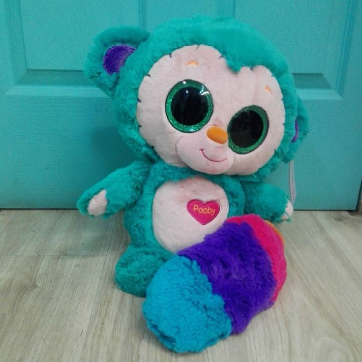Peluche Poovy con sonido. (Gigante, 50cm.). Ylvy and the Minimoomis.