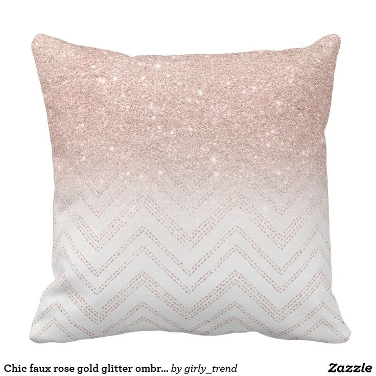 1017 best throw pillows images on pinterest coussins - Coussin rose gold ...
