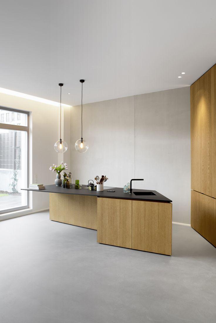 A minimalist interior on gartenstrasse in central berlin germany