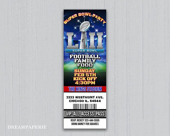 Super Bowl Ticket Template from i.pinimg.com