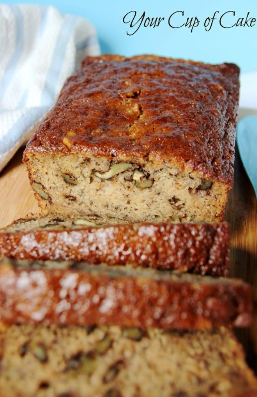 The Best Banana Bread you will have make!  It's like Starbucks'!