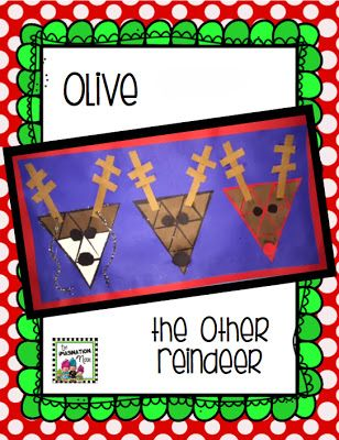 Olive the Other Reindeer - A craft and a puzzle rolled into one.