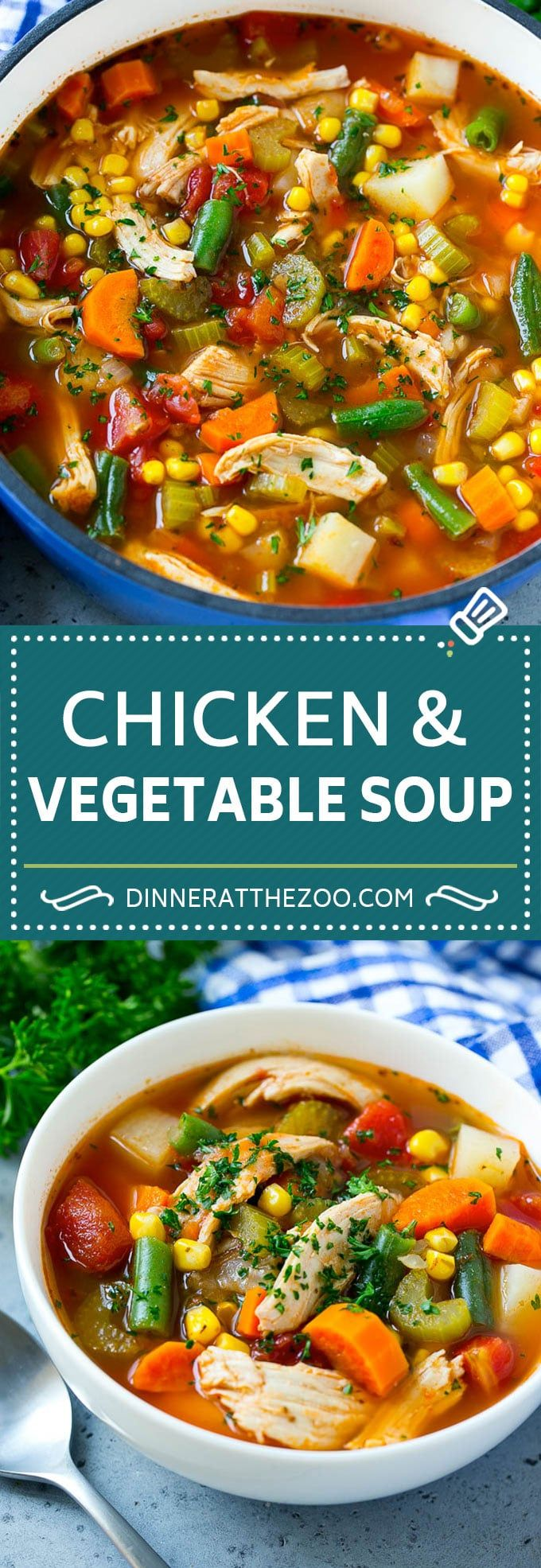 Chicken Vegetable Soup Recipe | Chicken Soup | Healthy Soup | Vegetable Soup #ch…