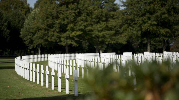 Helft Amerikaanse soldaten Margraten heeft een gezicht   NOS