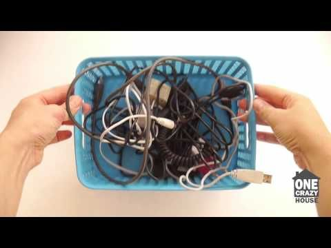 15 Ways to Hide Ugly Wires - One Crazy House