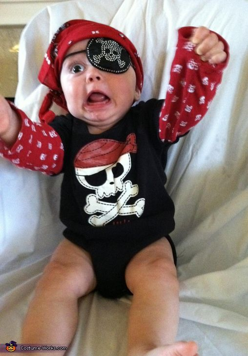 Pirate Baby Costume - Halloween Costume Contest via @costumeworks