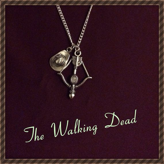 The Walking Dead Necklace... I want one of these!