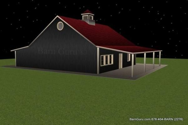3 Stall Horse Barn Plan Just For Me Pinterest Horse