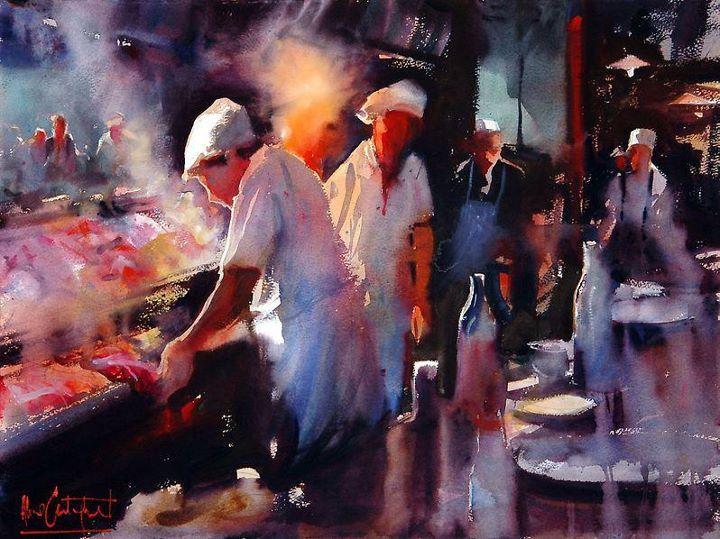 Alvaro Castagnet 1954 | Uruguay | Expressive Watercolor painter | Tutt'Art@ | Pittura * Scultura * Poesia * Musica |