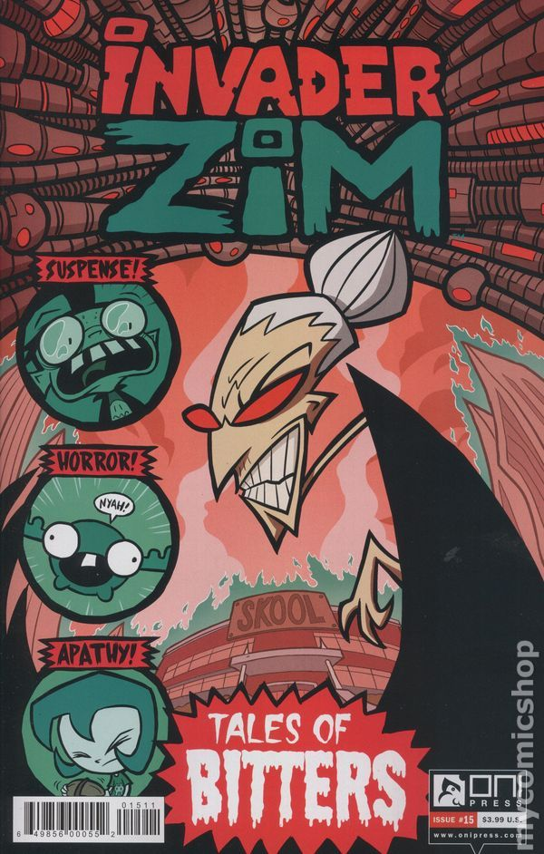 Invader Zim (2015 Oni Press) 15A