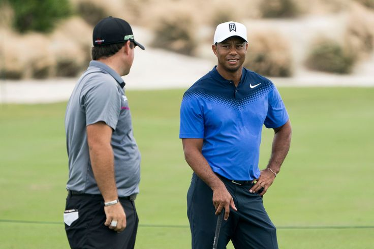 Tiger Woods shocks Patrick Reed with his distance before latest comeback