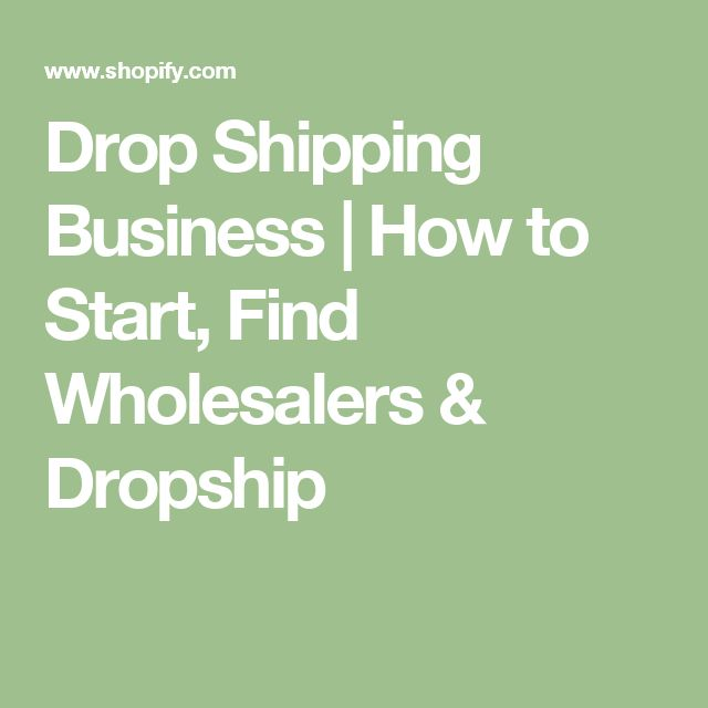 Drop Shipping Business   How to Start, Find Wholesalers & Dropship