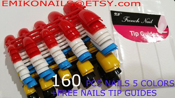 Discount Best deal Blank Toes Nails160 PCS Toe by emikonails