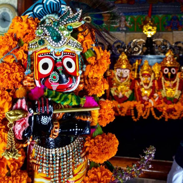 Lord Jagannath Kvikas10 wrote: Om Namoh Bhagwate Vasudevaye, Om Namoh Narayanaye, Beautiful form of Lord Krishna as Lord Jagannath. May all be happy, healthy without any sufferings. Let there be Peace and happiness everywhere in the world. Oh Lord...