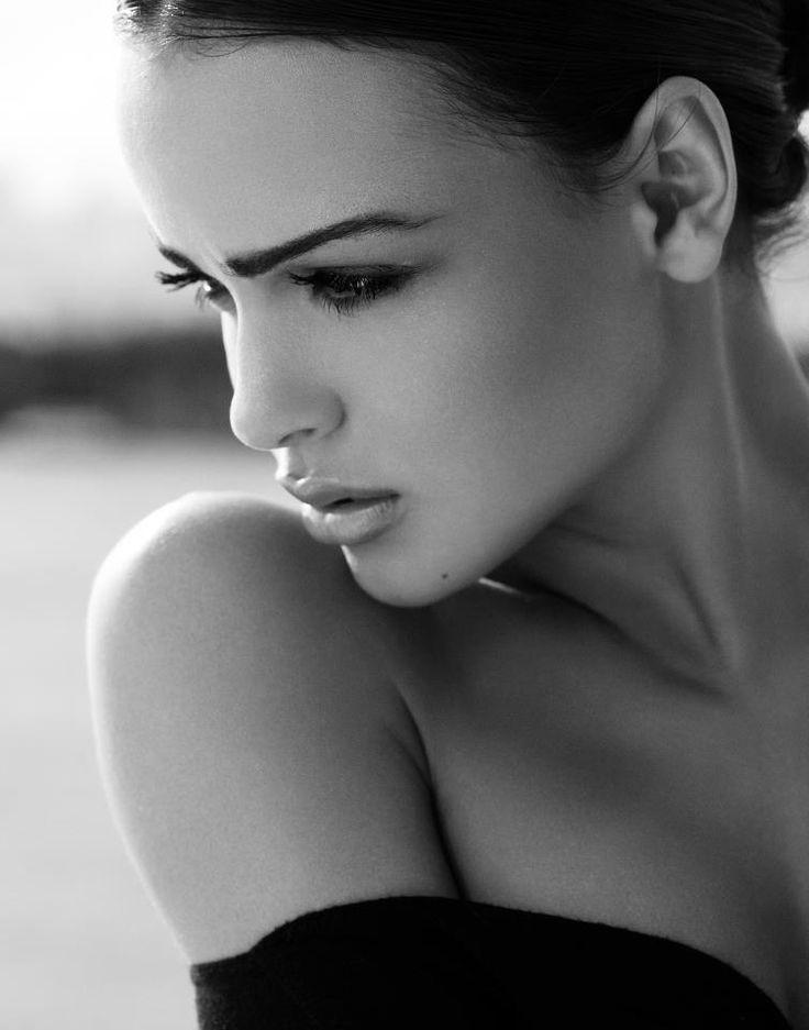 Sensualité en noir et blanc...