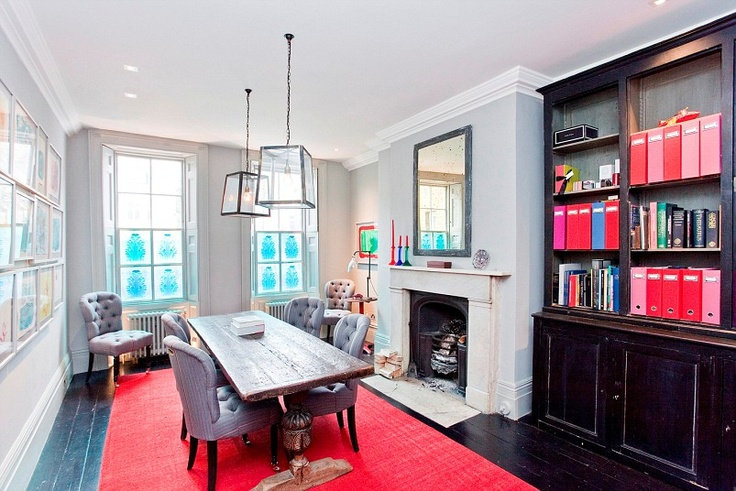 Alwyne Place, Islington, A four-bedroom Georgian town house with a light and airy interior.