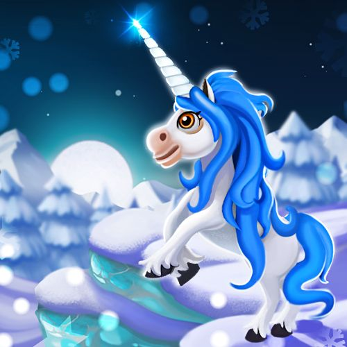 Majestic Winter Pegacorn #royalstorygame