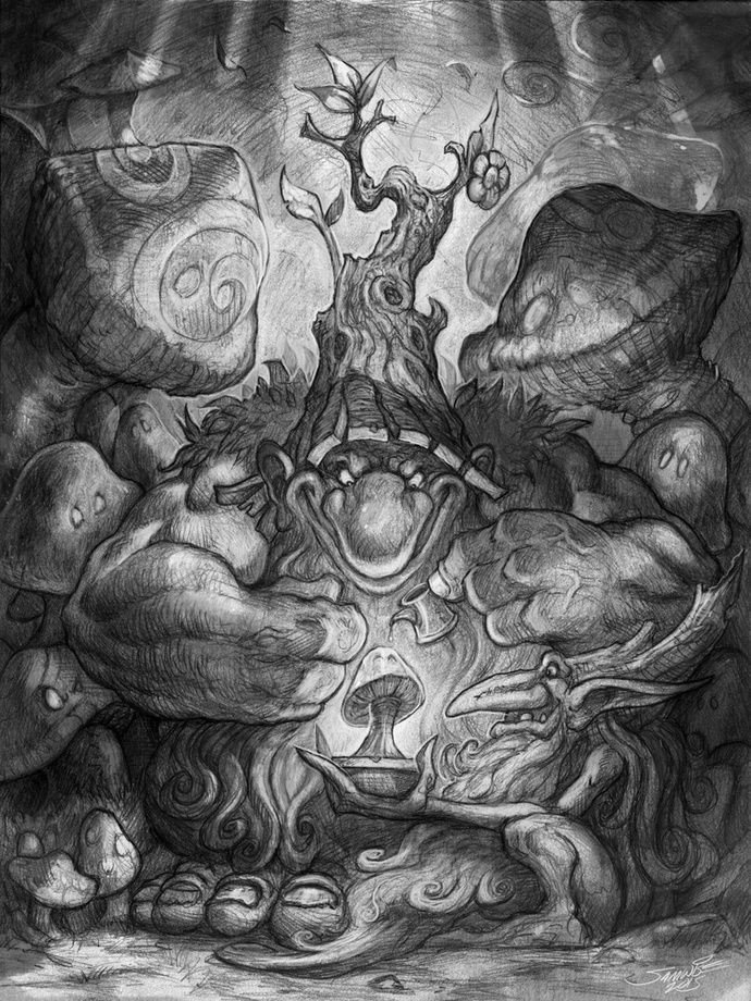A New Fungus Among Us, an art print by Samwise Didier - INPRNT