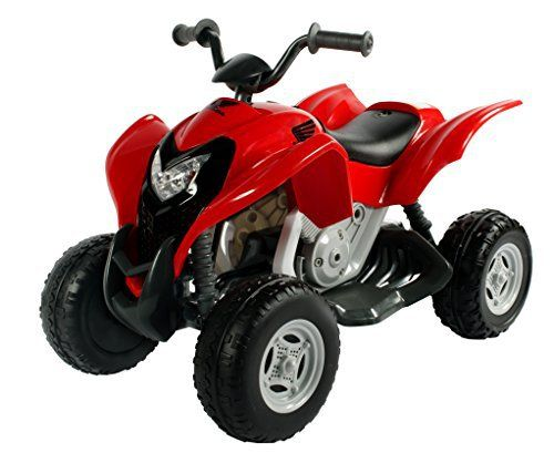 Aria Child Rollplay #Honda ATV 6V Battery Ride-On Vehicle, Red #Power #Wheel quad for the kids  Full review on: http://toptenmusthave.com/best-power-wheels/