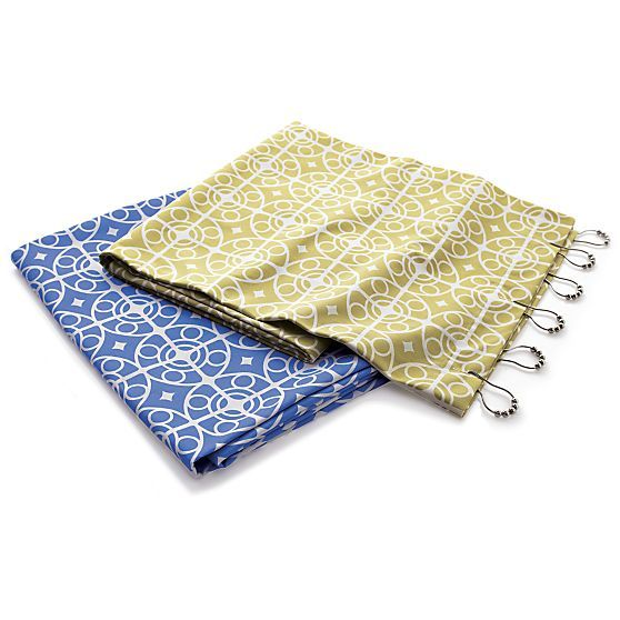 taza shower curtains and rings crate and barrel