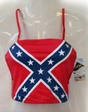 All Things Rebel Flag including Confederate Flag Bikinis, Trunks, Skirts, Shorts, Swimsuits, Towel and More