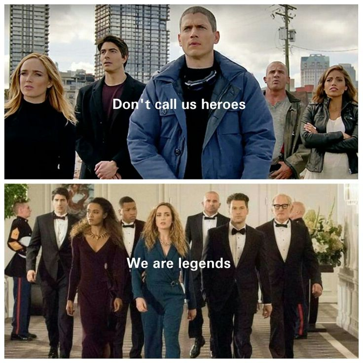 Don't call us heroes We are Legends