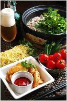 暑くとも絶品クレソン鍋でさっぱりハフハフと♪ - ご飯ですよ