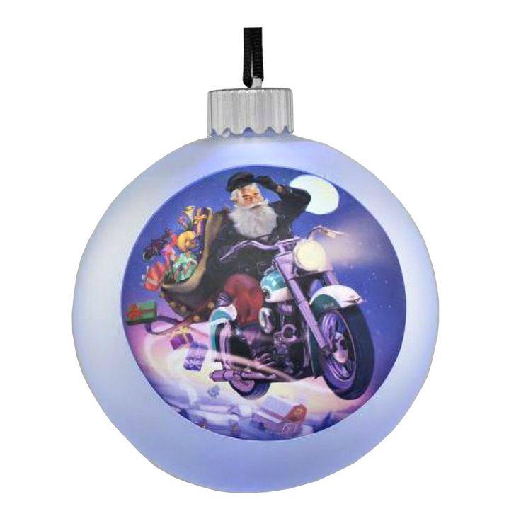 Harley-Davidson 2014 Holiday Santa Harley LED Ball ...