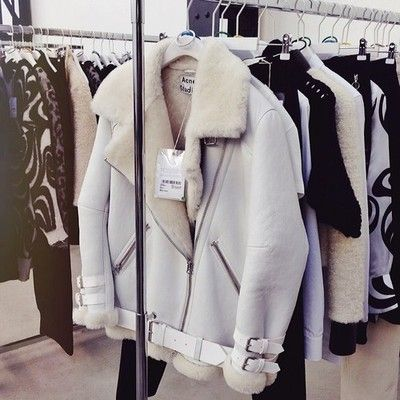 Dream lammy coat. Acne.  Shearling.