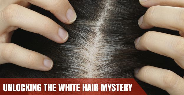 #WhiteHair - Identifying the Primary Causes: We all have to deal with white #hair at some point. Identifying the main causes of white hair is important before resorting to  any kind of solution.