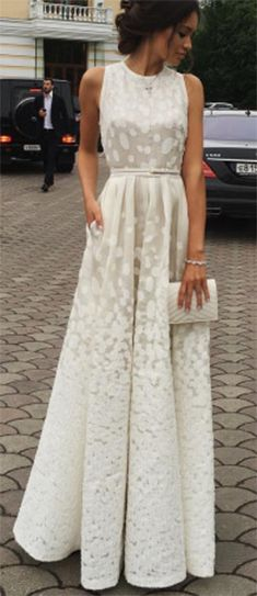 Ivory Prom Dress,Long Prom Dress,Cheap Prom Dress,Evening Dresses Prom Gown, Formal Women Dresses,prom dresses,Simple Prom Dress,A Line Prom Dress