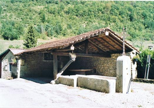 Lavoir de Vieillard, hameau de Jujurieux