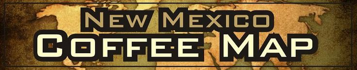 New Mexico Coffee Map