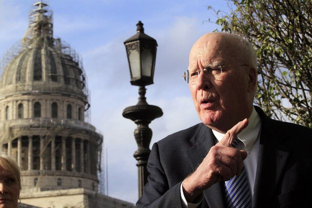 Why Patrick Leahy Is Wary Of A Big, Bipartisan Breakthrough On Criminal Justice - BuzzFeed News