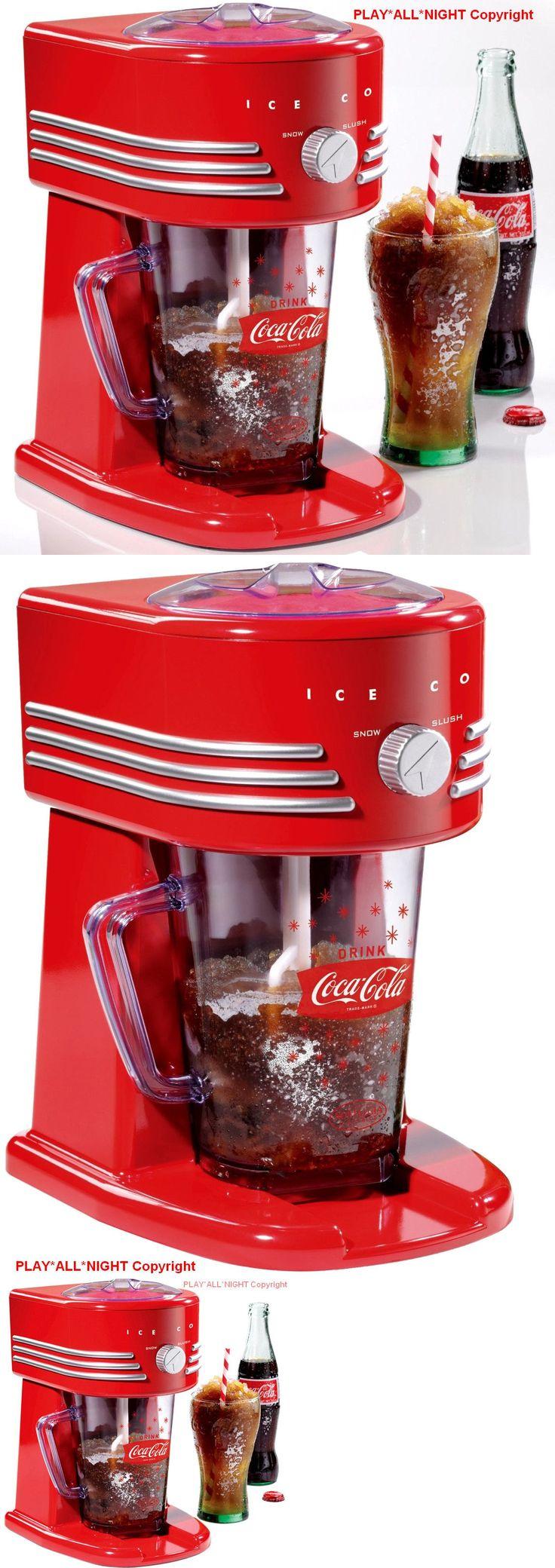 Other Small Kitchen Appliances 20685: Coca-Cola Series Frozen Slushie Drink Maker Snow Cone Slurpee Slush Ice Machine -> BUY IT NOW ONLY: $38.95 on eBay!