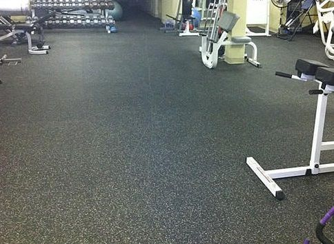 Unique Rubber Gym Floor