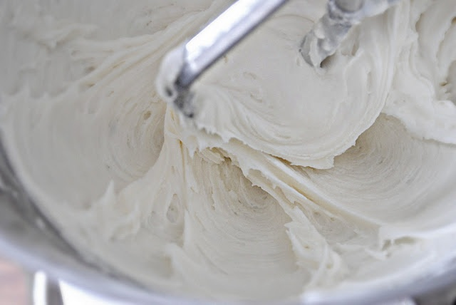 Simple Vanilla Frosting:  {yields 2 cups}      4 cups Powdered Sugar  4 tablespoons Butter, softened  1 teaspoon Pure Vanilla Extract  4-6 tablespoons of Whole Milk