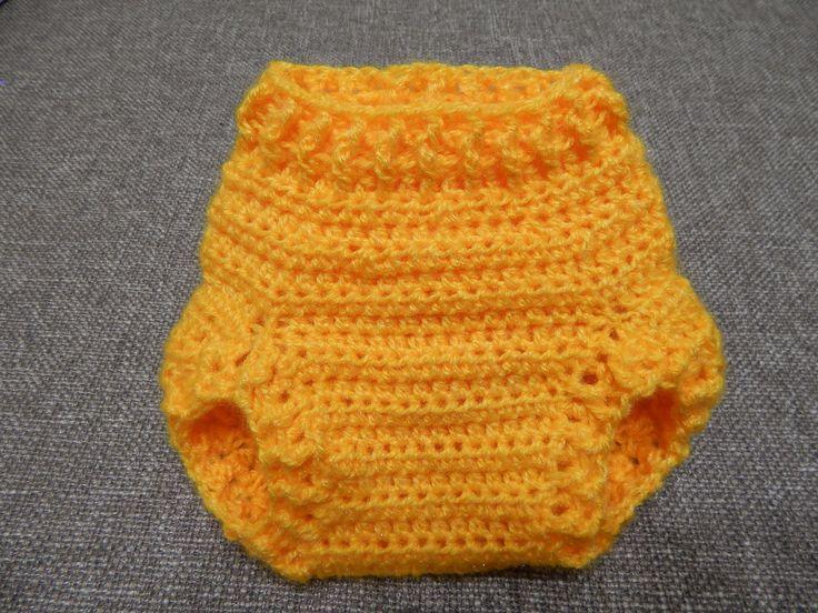 Cubre Pañal Crochet