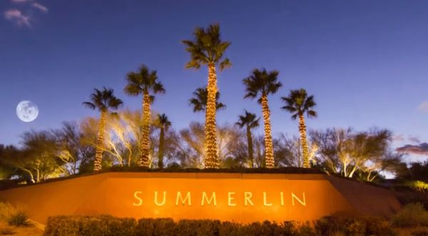 The beauty of living in Summerlin has so much to offer. • 150 miles of meandering trails • More than 150 parks • The best public and private schools in Las Vegas • A higher elevation that delivers cooler temperatures and amazing views of Las Vegas • Adjacent to Red Rock Canyon National Conservation Area • 9 Golf Courses • Shopping, dining, entertainment and more