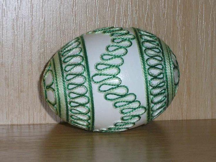 Easter egg - velikonoční vajíčka bavlnková