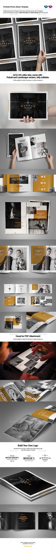 Photo Album Template #albumtemplate Download: http://graphicriver.net/item/photo-album-template/9225508?ref=ksioks