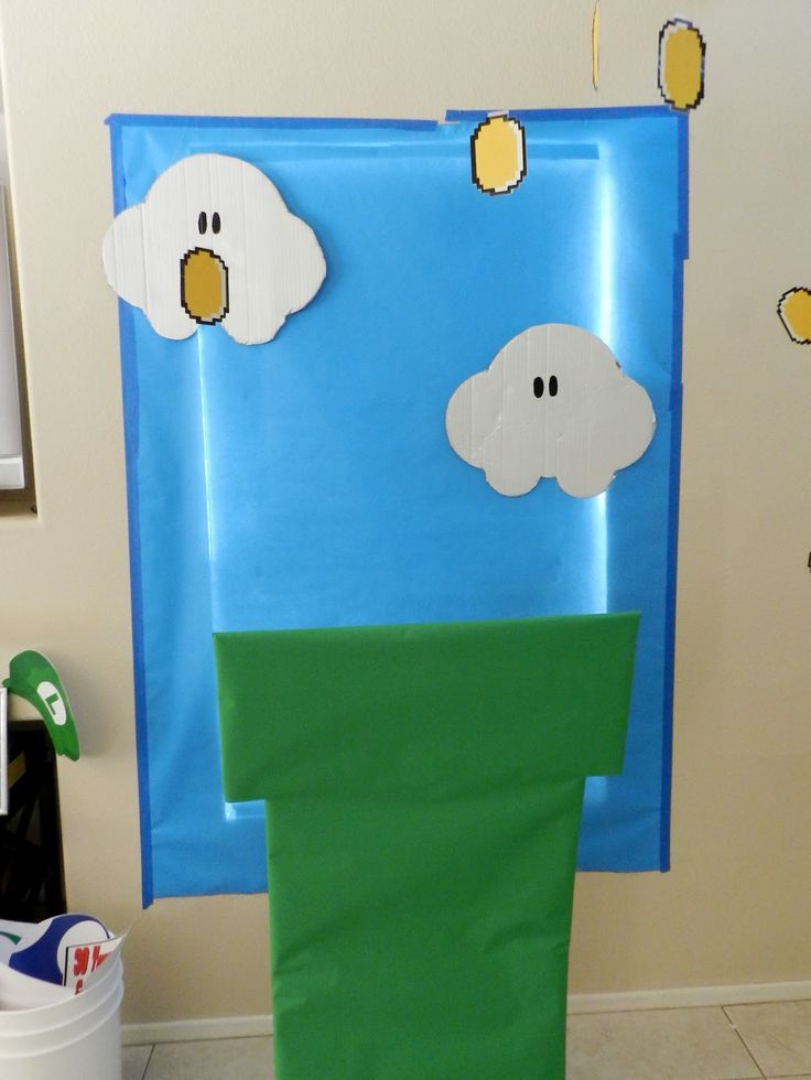 All About the Details: DIY Tuesday [Super Mario Brothers Photo Booth]