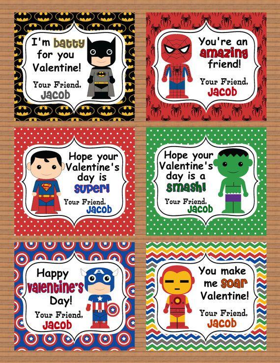 Valentine Boxes card ideas – School Valentines Cards