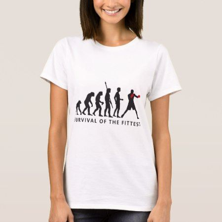 evolution boxing T-Shirt - click to get yours right now!