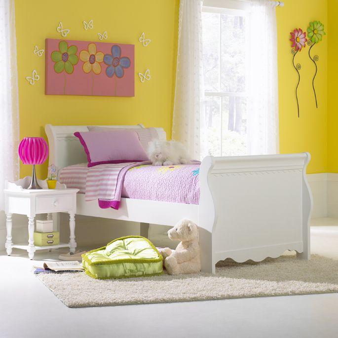 Lauren Twin Sleigh Bed Set - Hillsdale Furniture 1528BTWSR