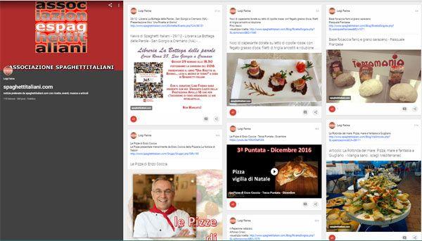 Nostro canale su GooglePlus dove potrete trovare tutti i contributi presenti su www.spaghettitaliani.com https://plus.google.com/collection/0OslqB