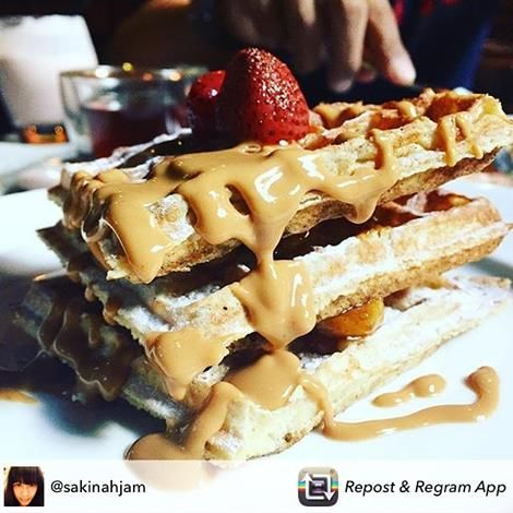 I've waffled before. I'll waffle again... Pic by @sakinahjam  #breakfast #breakfasttime #foodie #food #foodporn #foodlover #foodpic #foodphotography #foodgasm #foodstagram #foodblogger #dashbali #myarestaurant #waffles